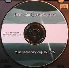 Jimmy K Sally Jack W & Chuck S 23rd Anniversary of Narcotics Anonymous 1975 CD