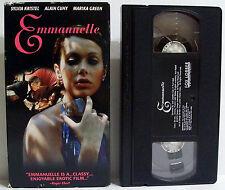 Emmanuelle #1 1973 VHS Sylvia Kristel Alain Cuny Marika Green 1st in Series