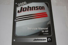 2006 johnson service manual outboard 4 stroke 30 hp new brp p/n 5006592