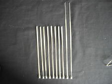 10 X STAINLESS STEEL TIES 8 X 200MM AND 2 X 300MM