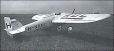 Pander D Netherlands Trainer Airplane Desktop Wood Model Big New