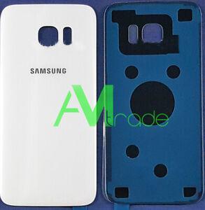 scocca posteriore per Samsung Galaxy S7 EDGE BIANCO WHITE back cover OEM g935f