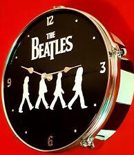 THE BEATLES - Abbey Road Drum Clock