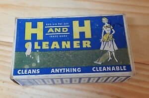 Vintage H AND H Cleaner.