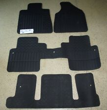 2009-2017 Traverse Front & 2nd & 3rd Row All Weather Floor Mats Captain Chairs