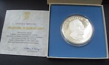 1974-Panama 20 Balboas Sterling Silver coin-proof-boxed-COA-Franklin Mint