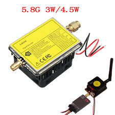 5.8GHz 3W/4.5W Wireless AV Transmitter Signal Booster Amplifier For TS832 Parts