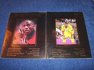 INVESTORS JOURNAL LOT OF 2 MICHAEL JORDAN SHAQUILLE O'NEAL ON COVERS (K217)