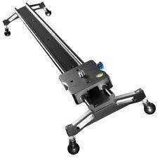 walimex pro Video Rail Slider Cineast 80cm, leichtgängiger, solider Kamerawagen