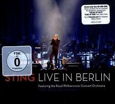 Live In Berlin - Sting CD + DVD (2) NEU