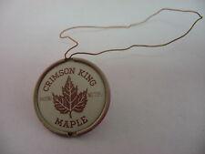Vintage Crimson King Maple Plant Tag Patent No. 735