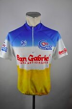 threeface Radtrikot cycling jersey maglia Gr. L San Gabriel Valsana birra B02