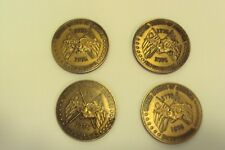 Lot of 4 Commemorative Coins 1776-1976  Bicentennial in Collectors Box