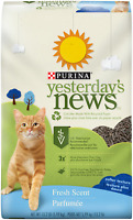 Purina Yesterday's News Non Clumping Paper Cat Litter; Fresh Scent Low Tracking