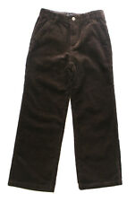 NWT E Land Kids Boys' Corduroy Pant in Brown ~ Size 10