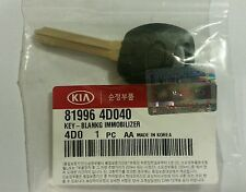 GENUINE KIA Grand Carnival Blank Transponder Key 81996 4D040