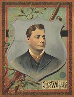 Original Vintage Poster Gus Williams 1895 American Music Vaudeville