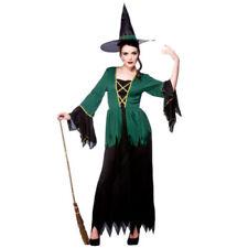 Costumi e travestimenti nero per carnevale e teatro taglia L, a tema delle streghe