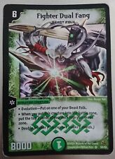 Fighter Dual Fang - Super Rare Holo - 2004 Duel Masters Trading Card - WOTC