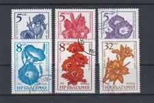 Bulgarien 3405-3407, 3489-3491 gestempelt (Gartenblumen) (110)