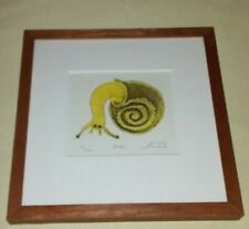 "Matthew Smith ""SNAIL"" Original signed '06 numbered 21/300"