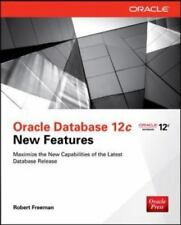 Oracle Database 12c New Features by Robert Freeman (2013, Paperback)