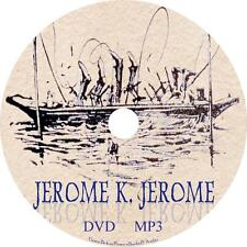 Jerome K Jerome Unabridged Audio Book Collection on 1 MP3 DVD Men Boat FREE SHIP