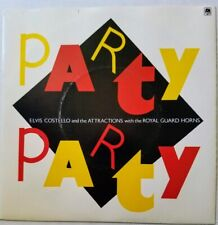 ELVIS COSTELLO, Party Party / Imperial Bedroom. British vinyl 45. Pic sleeve. NM
