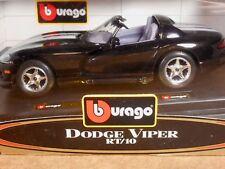 NOS BBURAGO DODGE VIPER RT/10  1:24 SCALE DIE-CAST