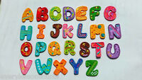FABRIC Iron On LETTERS Embroidered Applique Motif Colourful Felt Alphabet KIDS