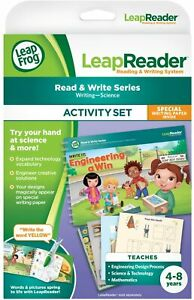 Leapfrog Leapreader Reading and Writing System Book Write It Engineering A Win
