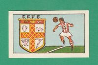 FOOTBALL - CLEVEDON CONFECTIONERY -  RARE  FOOTBALL  CLUB  CARD  NO. 35  -  1961