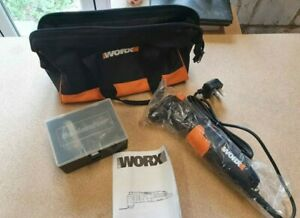 Worx Multitool WX679 New with Carry Case and Bits