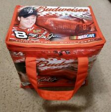 NASCAR Dale Earnhardt Jr Drink Cooler 24 Can Soft Side Budweiser 2005