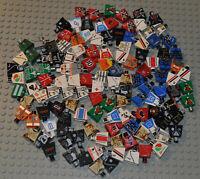Lego Torso Konvolut 125 Stk. bedruckt