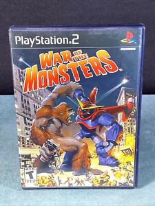 PS2 War of the Monsters Sony Play Station 2 Video Game