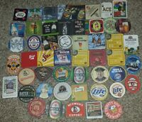 lot of 100 new beer coasters mixed lot collection Shiner Mike's 2x 50 different