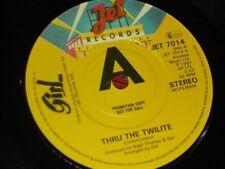 "Girl:  Thru the twilte    EX+  Promo  NWOBHM    7"""
