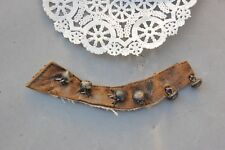 Shoe Button Lot 6 Antique Black Teddy Bear Doll Eye Replacement Part 10mm x 5mm