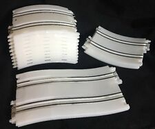 Artin City Storm 1/43 Slot Car White 2 Lane Track Ramp Loop Lot 14 Pieces