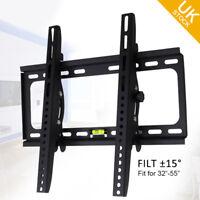 """LED LCD TV Tilt Wall Mount Bracket for 32 37 38 40 42 46 50 52 55"""" inch"""