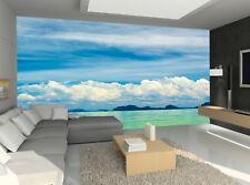 Sea , Scape   Photo Wallpaper Wall Mural DECOR Paper Poster Wall art Free Paste