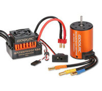 1/10 Rc Car Brushless Esc and Motor Set For Tamiya Holiday Buggy