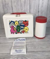 Mr Men Lunch Box Complete With Flask Bluebird Toys 1980s Vintage Retro