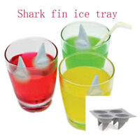 Shark Fin Rubber mold 4 ice chocolate wax candle crayon soap crafts tray DYI