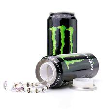 Secret Safe Monster Energy Drink Can Hidden Stash Storage Home Security Box