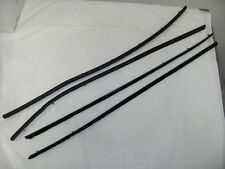 1967 1968 Ford Mustang Fastback Window Channel Felt Sweepers Strips Kit