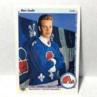 Mats Sundin Quebec Nordiques Center 1995 Upper Deck Fifth Anniversary #219 NHL
