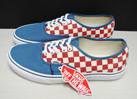 Vans Authentic (50th) Checkerboard/ Blues Ashes VN-0A348ALVK Men's Size: 9