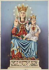 Disegno Bozzetto di Santino Drawing pencil sketch Madonna Incoronata con Bambino